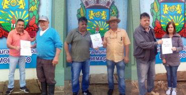 Prefeitura de Mormaço entrega prêmios da Nota Fiscal Gaúcha de Setembro