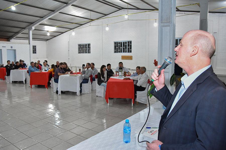 Prefeito de Victor Graeff assume a presidência da AMASBI